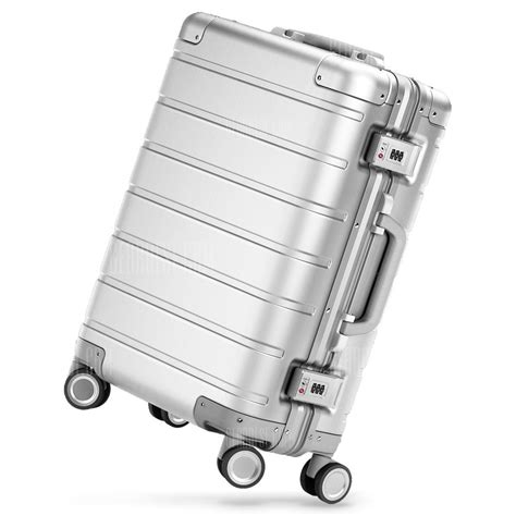 Xiaomi Mi Trolley 90 Points Suitcase 20inch White buy xiaomi 24 inch travel suitcase towel neck pillow set blue at gearbest goods
