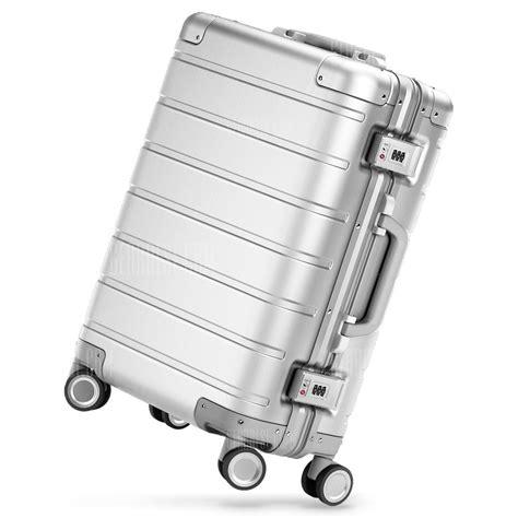 Xiaomi Mi Trolley 90 Points Suitcase 24inch Grey buy xiaomi 24 inch travel suitcase towel neck pillow set