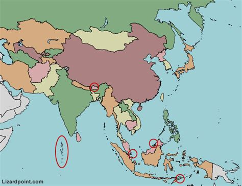 asia map test test your geography knowledge asia countries quiz