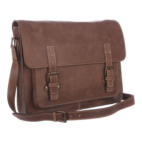 Vintage Brown Leather by Watson Vintage Brown Leather Satchel