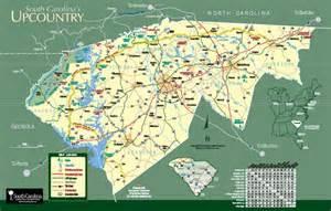 Area map upcountry south carolina greenville sc