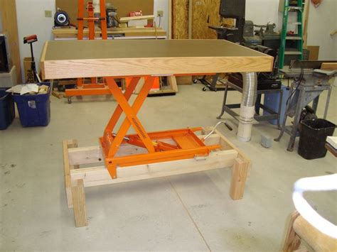 adjustable height workbench  assembly table flickr