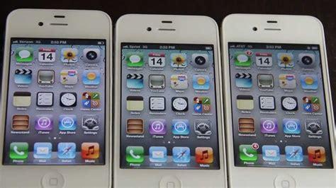 iphone 4s at t vs verizon vs sprint speed test