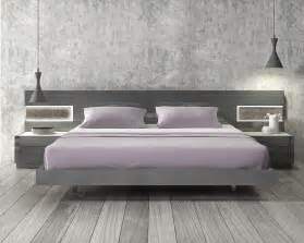 Platform Beds Modern Design Lacquered Stylish Wood Elite Platform Bed With Panels