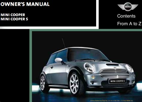 Mini Cooper Handbook Mini Cooper Owner S Manual Zofti Free Downloads