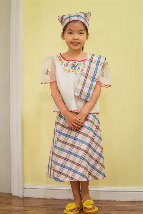 philippines traditional clothing for kids my mom friday kid style best in filipiniana 2014