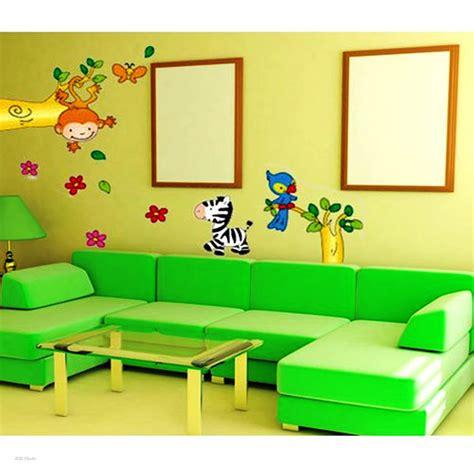 wallpaper dinding kartun contoh wallpaper dinding ruang tamu gambar rumah idaman