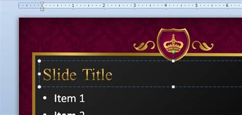 royal templates for ppt queen powerpoint template