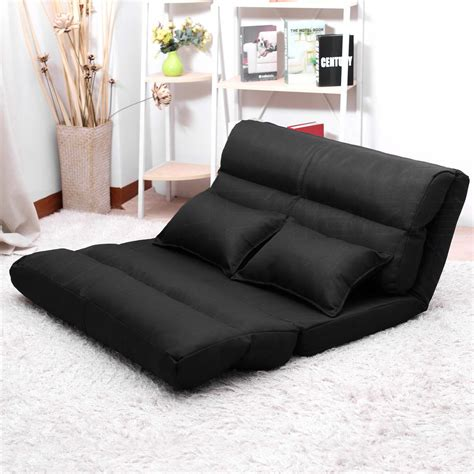 recliner bed chair lounge sofa bed double size floor recliner folding chaise