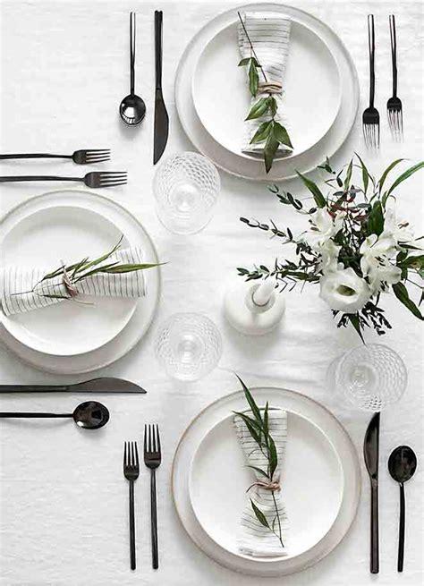 modern white table ls 5 dicas para montar a mesa