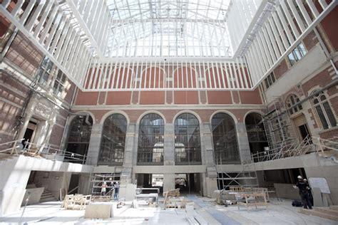 amsterdam museum renovation amsterdam s renovated rijksmuseum shines with 750 000 led