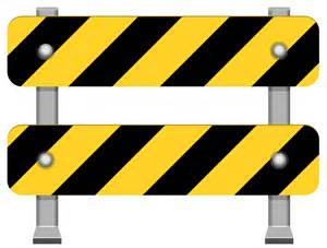 yellow road barricade png clip art clipart