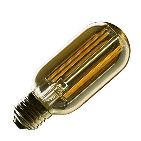 E27 Vintage Tubular T45 Led Filament Bulb Tubular Led Light Bulbs