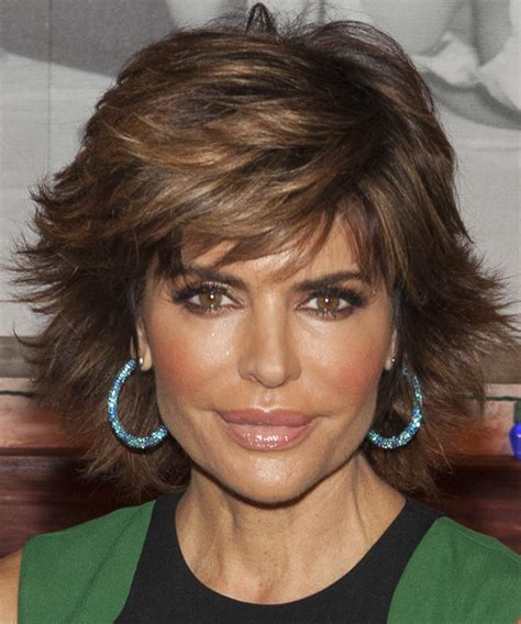 what type of hair products does lisa rinna use lisa rinna short straight formal hairstyle medium brunette