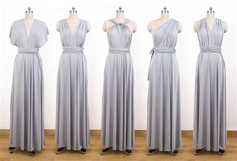 Set Dress set of 6 cocktail bridesmaid convertible dress dresses