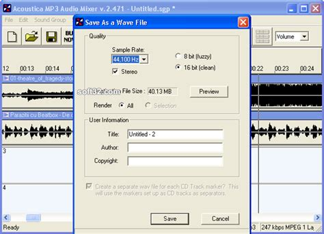 download mp3 cutter and mixer software download acoustica mp3 audio mixer 2 471