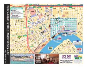 New Orleans French Quarter Tourist Map french quarter map pictures to pin on pinterest