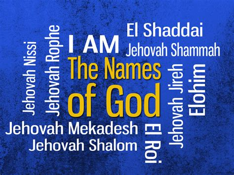 i am god by any other name keith burnett ministries the great i am
