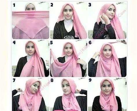 tutorial hijab hijab tutorial four square and shawl on pinterest