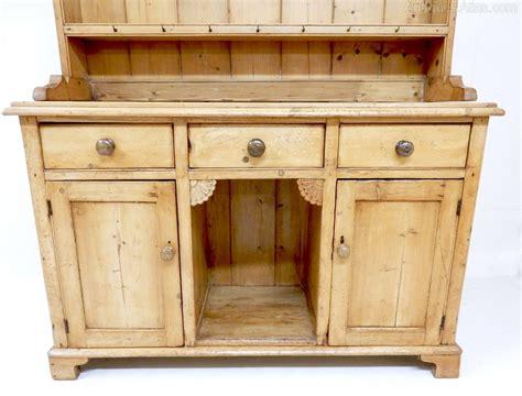 antique pine dresser antique pine open rack dresser antiques atlas