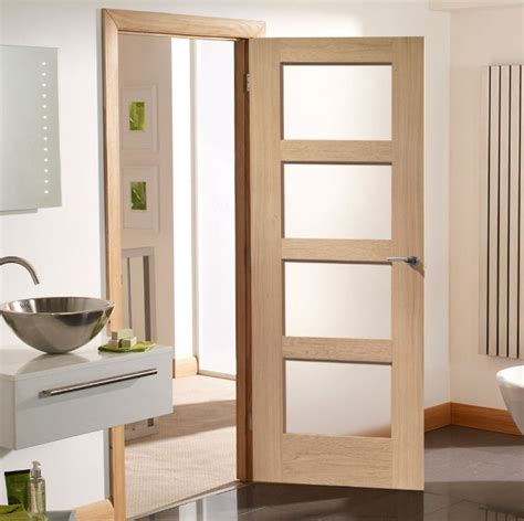 White Glass Panel Interior Doors For Bathroom Home Doors White Interior Doors With Glass Panel