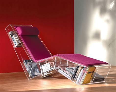 Chair With Built In Bookshelf by 8 Unique Chairs With Built In Bookcase For Bookworms
