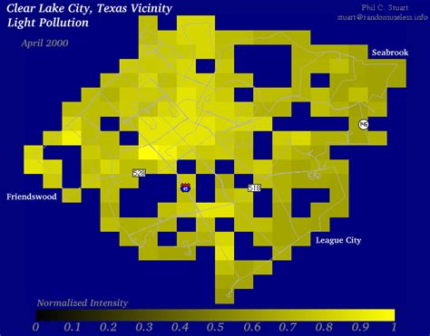 light pollution map texas light pollution map texas images