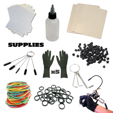 tattoo equipment and supplies the hildbrandt professional supply kit system 2