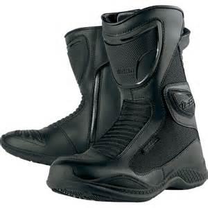 street bike boots sale on icon reign waterproof men s sports bike racing