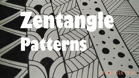 log4j pattern simple class name 5 zentangle patterns for beginners how to draw easy