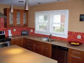 Red Tile Backsplash Kitchen by Pics Photos Red Tiles Source Mosaic Kitchen Red Tiles