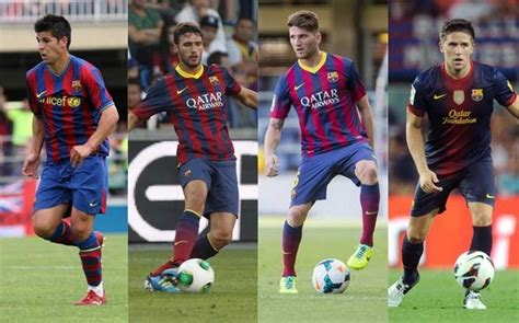 barcelona young players old friends celta vigo have four ex barcelona players