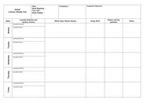 weekly planning template for teachers blank weekly and maths planning templates by molly
