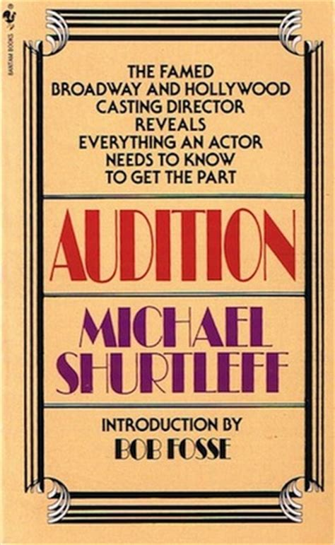 auditioning for actor programs books everything an actor needs to to get the