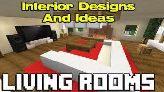 How To Make Living Room Minecraft Minecraft Living Room Designs