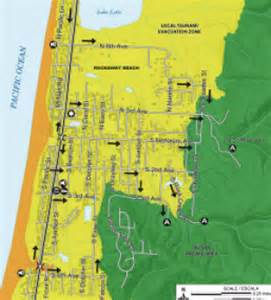 oregon tsunami evacuation maps tsunami evacuation maps for nehalem river valley area and
