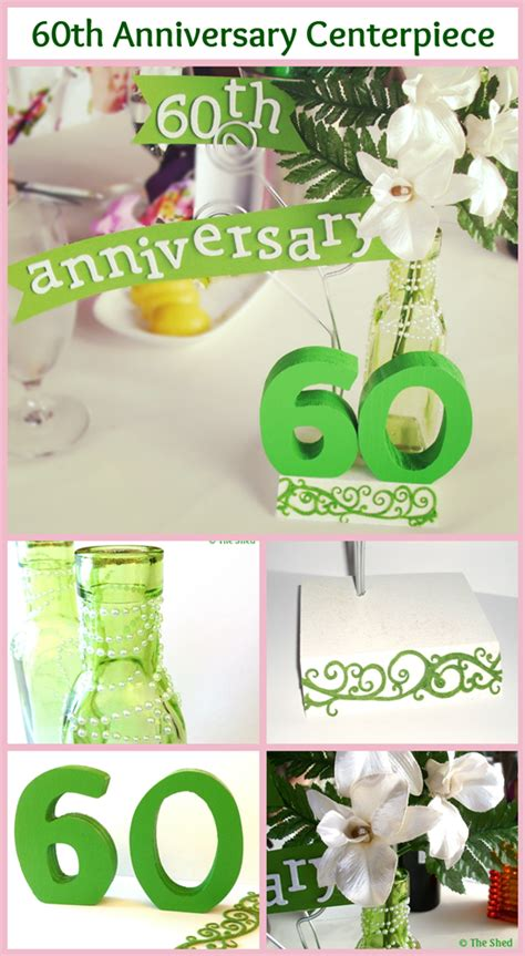 60th anniversary centerpieces 60th anniversary wedding centerpiece diy