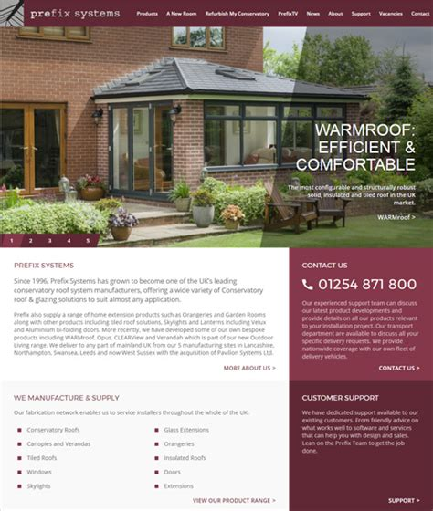 Backyard Living Magazine Website by Prefix Systems Launches Content Rich New Website Glass