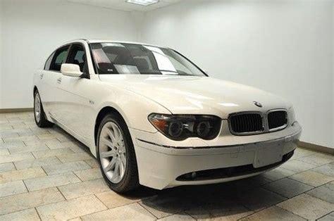 2005 bmw 745li for sale purchase used 2005 bmw 745li white black low tons of