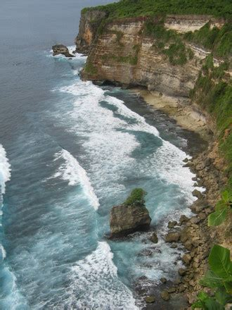 cliff bali cliff by the sea bali photo 1402587 freeimages