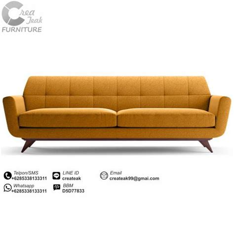 Bangku Sofa Dua Seater Retro sofa vintage minimalis kintani createak furniture createak furniture
