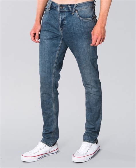 volcom  tapered jean ozmosis pants jeans