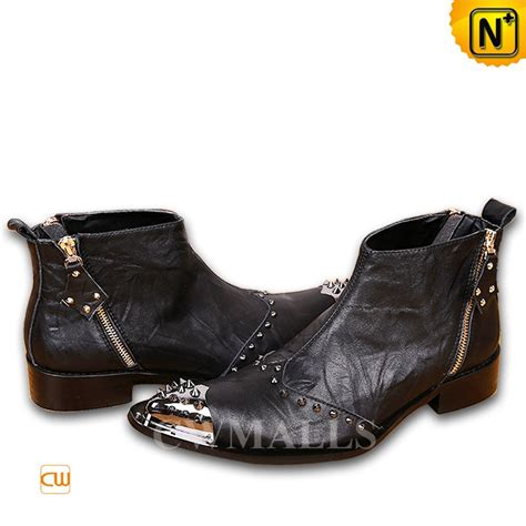 dress boots leather cwmalls 174 mens leather ankle dress boots cw706358