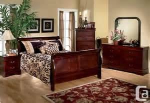 Queen size sleigh bed bedroom set 400 in toronto ontario for sale