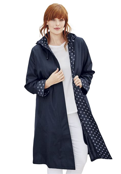 large raincoat hooded raincoat plus size new coats jackets