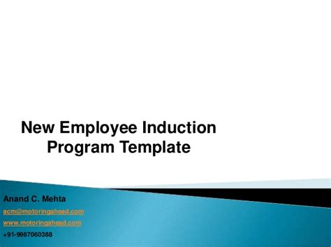 induction template for new employee pin sle company orientation checklist on
