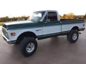 1972 chevrolet chevy c10 k10 truck custom deluxe 4x4 bed