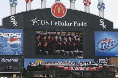 silent drill platoon rocks white sox home opener gt 9th