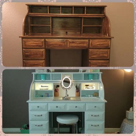Handmade Makeup Vanity - best 25 painted makeup vanity ideas on diy
