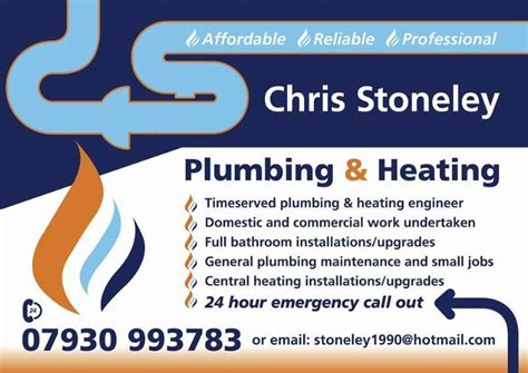 Variety Plumbing And Heating by Chris Stoneley Plumbing And Heating Plumber In Frodsham Uk